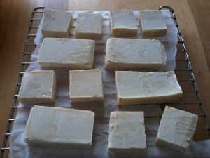 Soap Curing