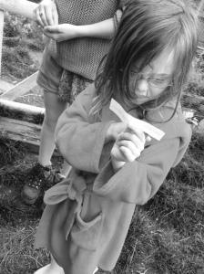 Farm Girl decodes a clue