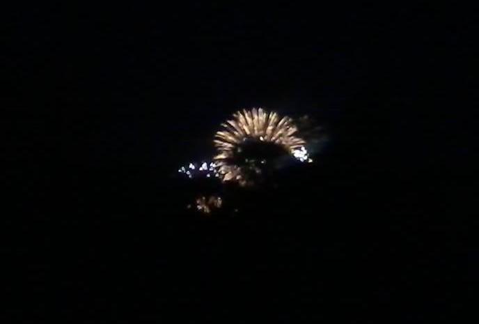 fireworks from goatpaddock